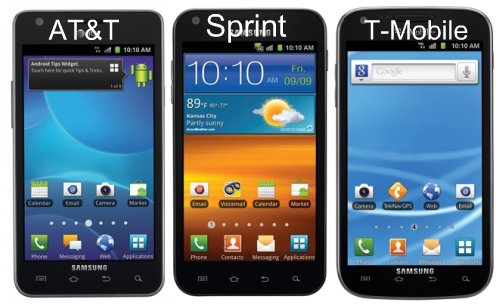 Samsung Galaxy S II Android phone
