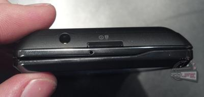 Top-down view showing thinness of DROID4