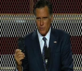 Mitt Romney Apple iPhone Smartphone